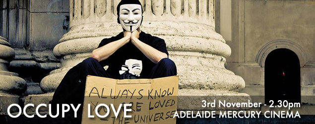 Occupy Love Web banner