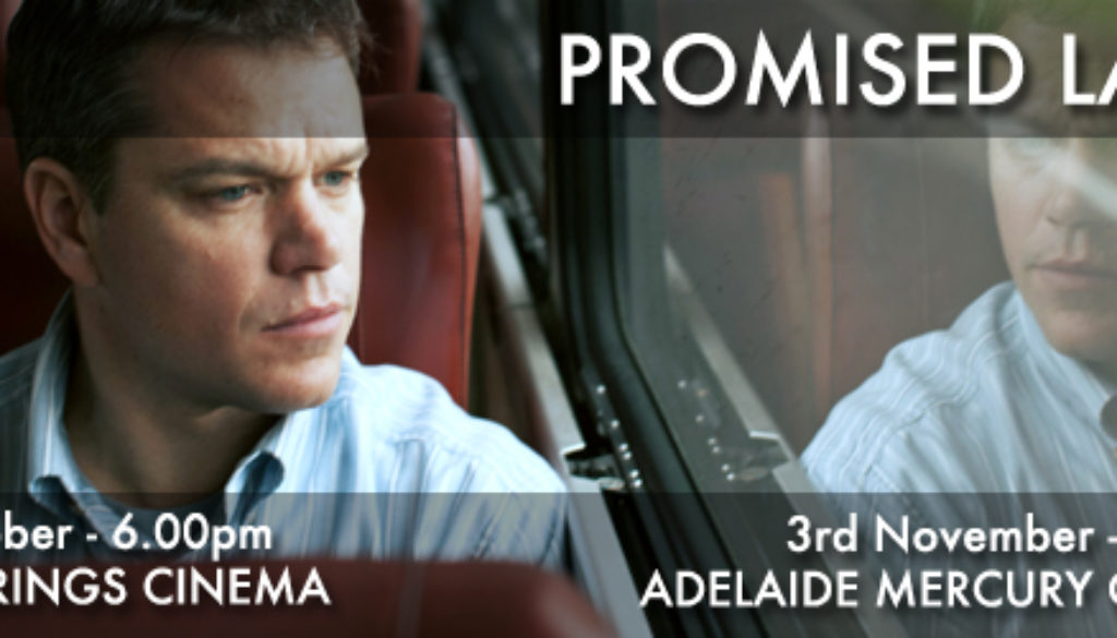 Promised Land Web banner