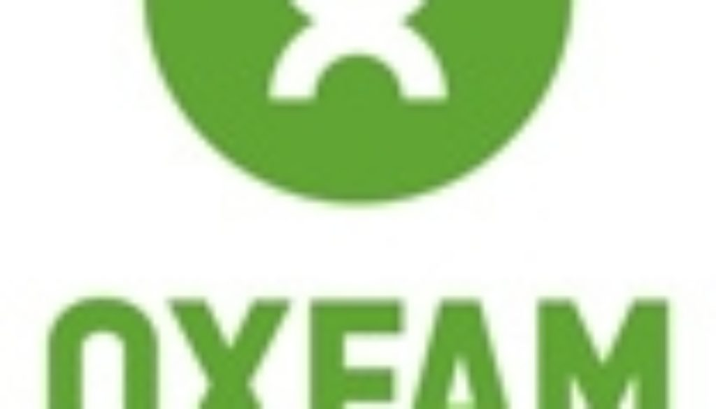 Oxfam logo vertical green