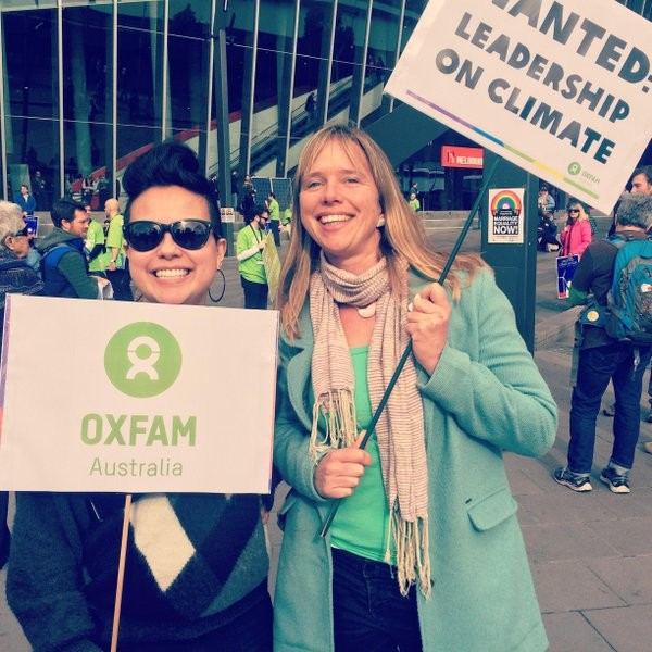 Ula Majewski is campaigning for food and climate justice
