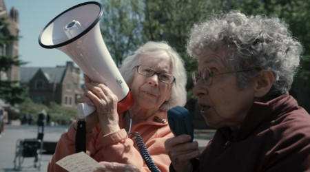 "Two Raging Grannies + short film ""King Of the Forest"""