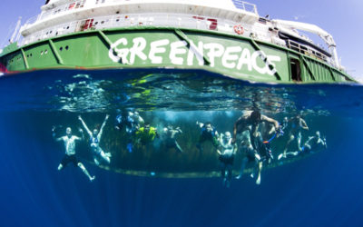 Greenpeace visions for a better world